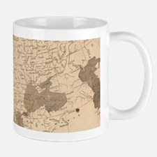 Vintage Map of Europe (1804) Mugs