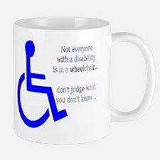 Disability Message Mug