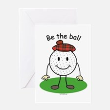 Be the Ball Greeting Card