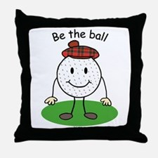Be the Ball Throw Pillow