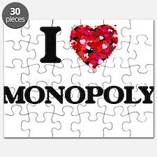 I Love Monopoly Puzzle