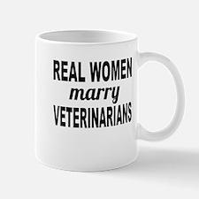 Real Women Marry Veterinarians Mugs