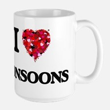 I Love Monsoons Mugs