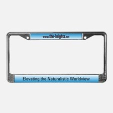 Cute Godless License Plate Frame