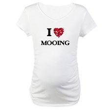 I Love Mooing Shirt