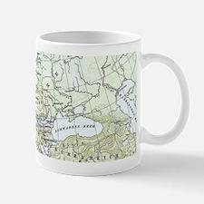 Vintage Map of Europe (1899) Mugs