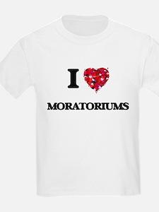 I Love Moratoriums T-Shirt