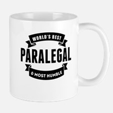 Worlds Best And Most Humble Paralegal Mugs
