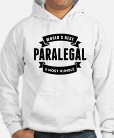 Worlds Best And Most Humble Paralegal Hoodie