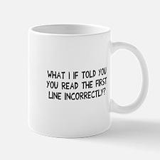 You read that wrong Mug