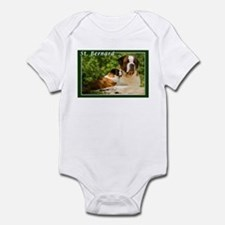 St Bernard-3 Infant Bodysuit