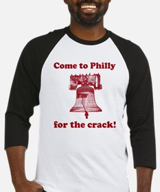 Come to Philly for the crack Baseball Jersey