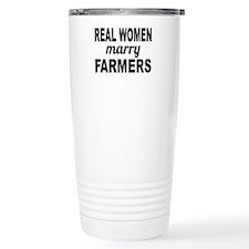 Real Women Marry Farmers Travel Mug