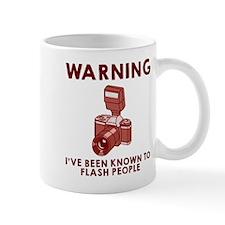 Warning flash people Mug