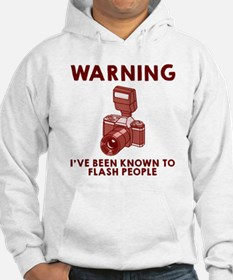 Warning flash people Hoodie