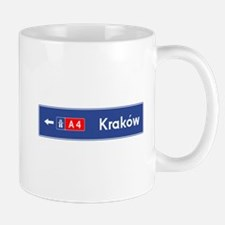 Cracow Roadmarker (PL) Mug