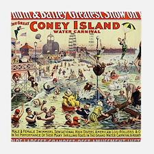 The Barnum and Bailey Greatest Show o Tile Coaster
