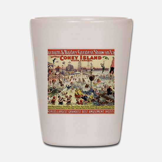 The Barnum and Bailey Greatest Show on  Shot Glass