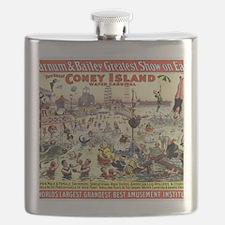 The Barnum and Bailey Greatest Show on Earth Flask