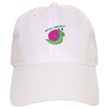 Epic Snail Baseball Baseball Cap