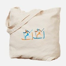 Snow Ski Tote Bag