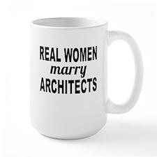 Real Women Marry Architects Mugs