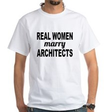 Real Women Marry Architects T-Shirt