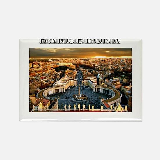 Barcelona Evening Magnets