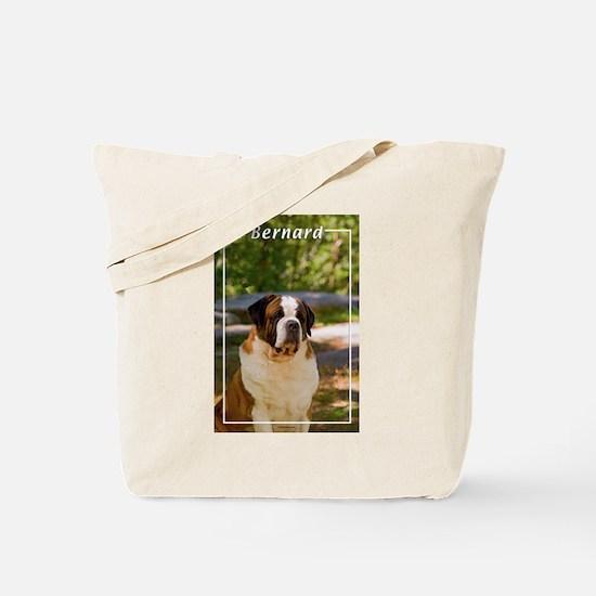 St Bernard-4 Tote Bag