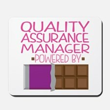 Quality Assurance Manager Mousepad
