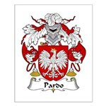 Pardo Family Crest   Small Poster