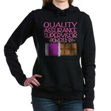 Quality Assurance Superv Women's Hooded Sweatshirt