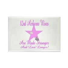 82nd airborne wives Rectangle Magnet