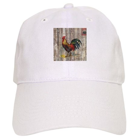 rossignol rooster baseball cap hat rustic farm country