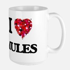 I Love Mules Mugs
