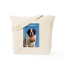 St Bernard-5 Tote Bag