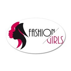 Fashion Girls Wall Decal