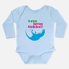 T-Rex Loves Tickles Body Suit