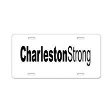 Charleston Strong Aluminum License Plate