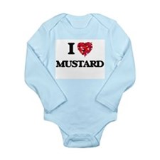 I Love Mustard Body Suit