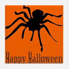 Halloween Tarantula Tile Coaster