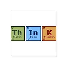 """Unique Periodic table Square Sticker 3"""" x 3"""""""