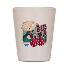 Family Guy Big Winner Shot Glass