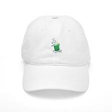 I Run On Green Energy Baseball Baseball Cap