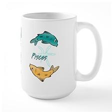 Cartoon Pisces Mug
