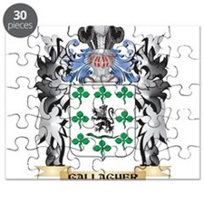 Gallagher Coat of Arms - Family Crest Puzzle