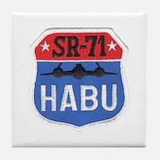 SR-71 Blackbird HABU Tile Coaster