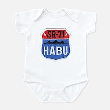 SR-71 Blackbird HABU Infant Bodysuit