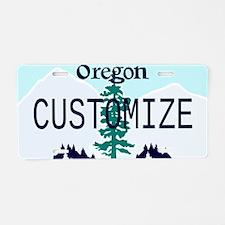 Oregon Custom Aluminum License Plate