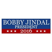 Bobby Jindal President 2016 Bumper Bumper Bumper Sticker
